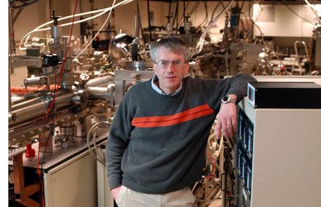 Jim Eckstein in his MBE lab