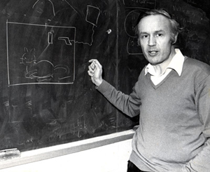 Sir Anthony J. Leggett and Schroedinger's famous thought experiment