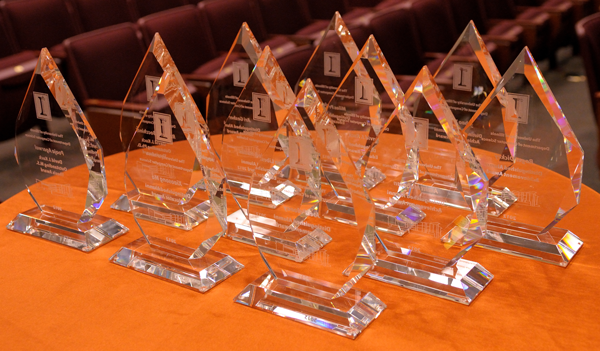 Illinois Computer Science Awards Trophies